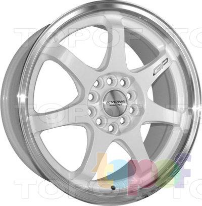 Колесные диски Kyowa KR627. Изображение модели #3