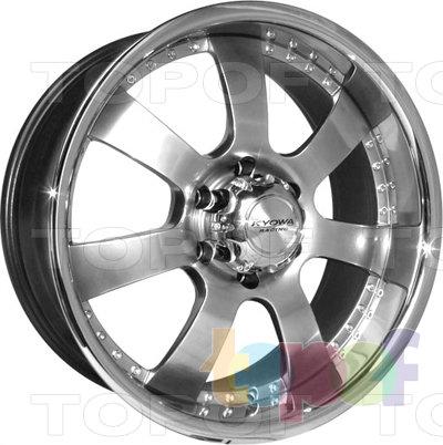 Колесные диски Kyowa KR639. Изображение модели #1