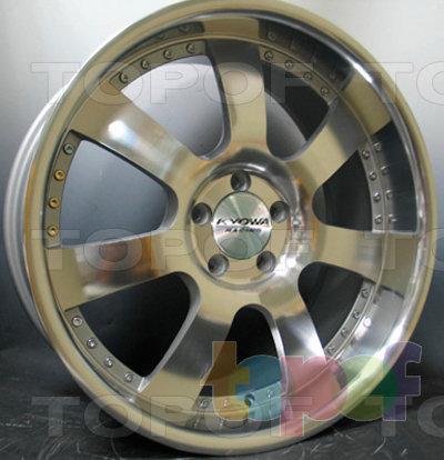 Колесные диски Kyowa KR639. Изображение модели #3