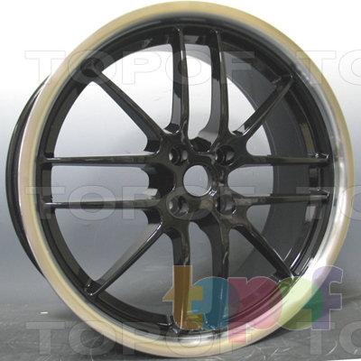 Колесные диски Kyowa KR644. Цвет BKL