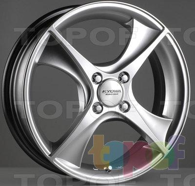 Колесные диски Kyowa KR646. Цвет HPB