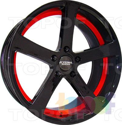 Колесные диски Kyowa KR652. Цвет HPB