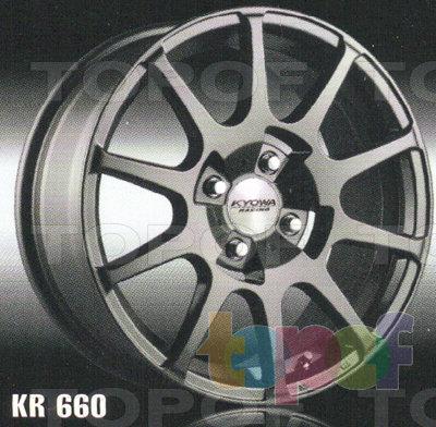 Колесные диски Kyowa KR660. Изображение модели #1