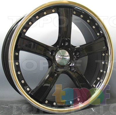 Колесные диски Kyowa KR661. Изображение модели #2