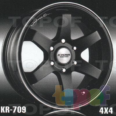 Колесные диски Kyowa KR709. Изображение модели #1