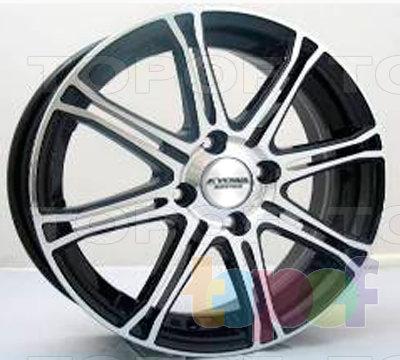 Колесные диски Kyowa KR721. Изображение модели #1