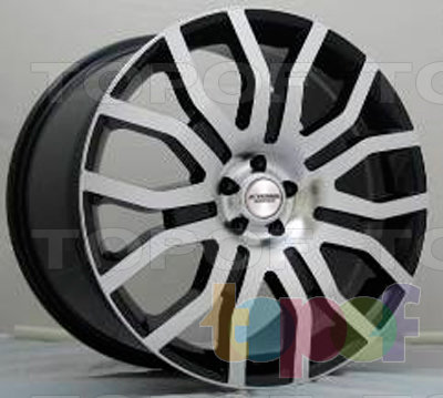 Колесные диски Kyowa KR725. Изображение модели #1