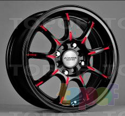 Kr735 литые колесные диски yst x7