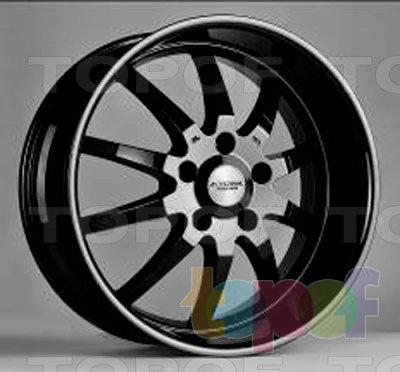 Колесные диски Kyowa KR754. Изображение модели #1