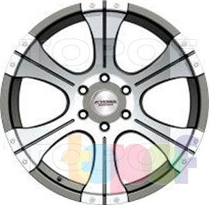 Колесные диски Kyowa KR789. Изображение модели #1
