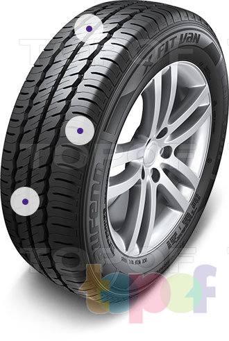 Шины Laufenn X Fit Van. Изображение модели #4