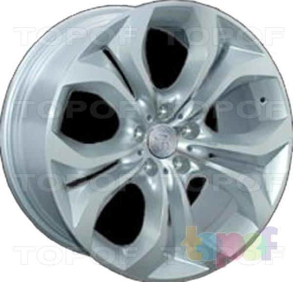 Колесные диски Replica LegeArtis B116. Серебряный полированный