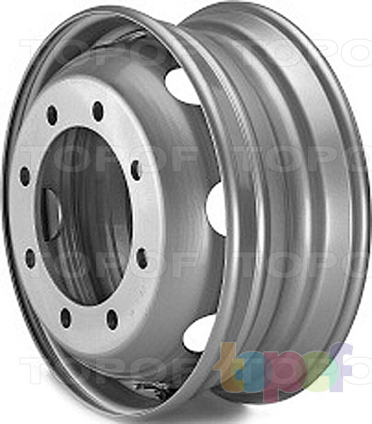 Колесные диски Lemmerz для автобусов и прицепов 6,75, 7,50 и 8,25 x19,5