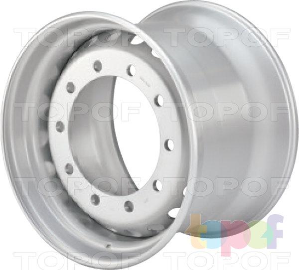 Колесные диски Lemmerz для прицепов 13,00, 14,00 и 15,00 x22,5. Изображение модели #1