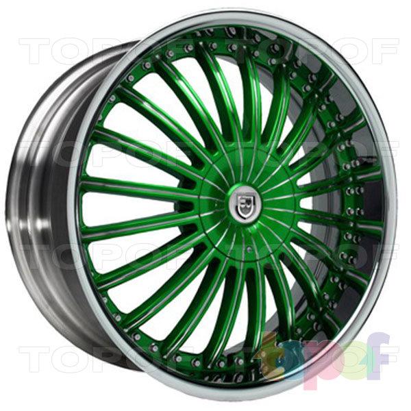 Колесные диски Lexani CS 3. Изображение модели #4
