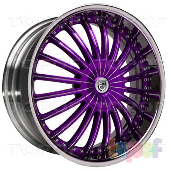 Колесные диски Lexani CS 3. Изображение модели #6