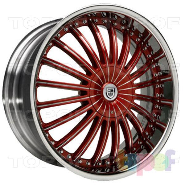 Колесные диски Lexani CS 3. Изображение модели #7