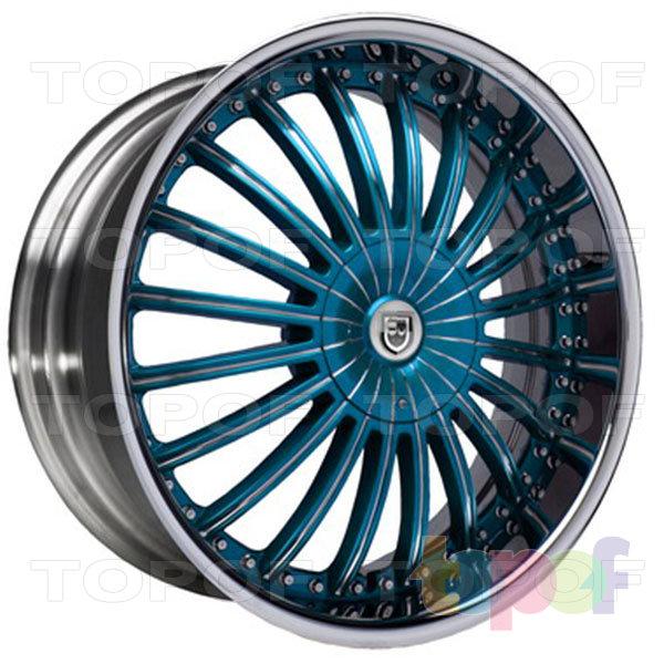 Колесные диски Lexani CS 3. Изображение модели #8