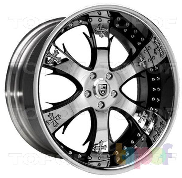 Колесные диски Lexani LTC704 B1. Изображение модели #1