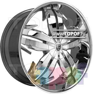 Колесные диски Lexani Marqi II (хром). Изображение модели #1