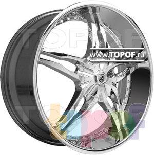 Колесные диски Lexani Pyro (хром). Изображение модели #1