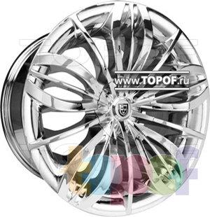 Колесные диски Lexani Seven (хром). Изображение модели #1