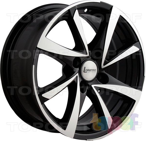 Колесные диски Lorenso 1009. Изображение модели #1