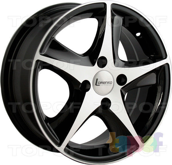 Колесные диски Lorenso 1021. Изображение модели #1