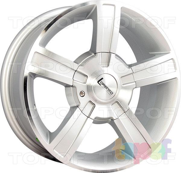 Колесные диски Lorenso 1040. Изображение модели #1