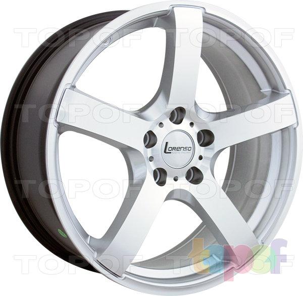Колесные диски Lorenso 1087. Изображение модели #3