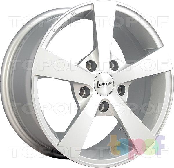 Колесные диски Lorenso 1136. Изображение модели #1