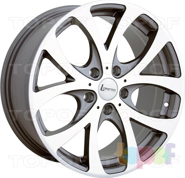 Колесные диски Lorenso 1151. Изображение модели #1