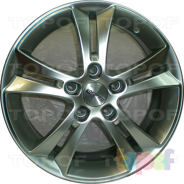 Колесные диски Lorenso 1154. Изображение модели #1