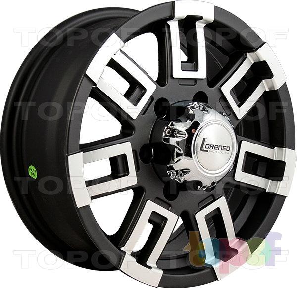 Колесные диски Lorenso 1157. Изображение модели #1