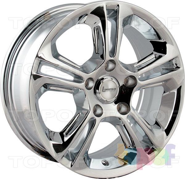 Колесные диски Lorenso 1309. Изображение модели #1