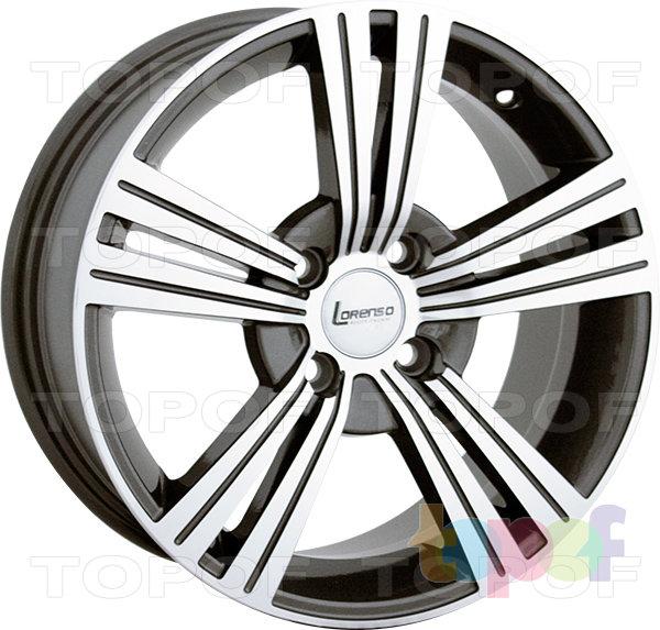 Колесные диски Lorenso 1312. Изображение модели #1