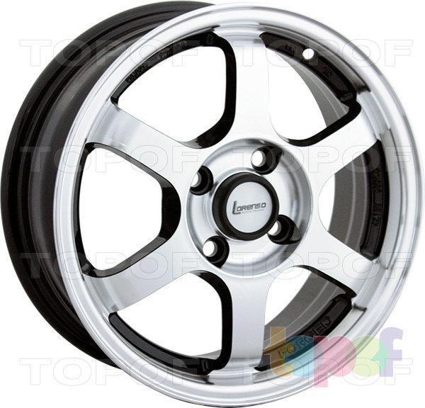 Колесные диски Lorenso 1318. Изображение модели #1