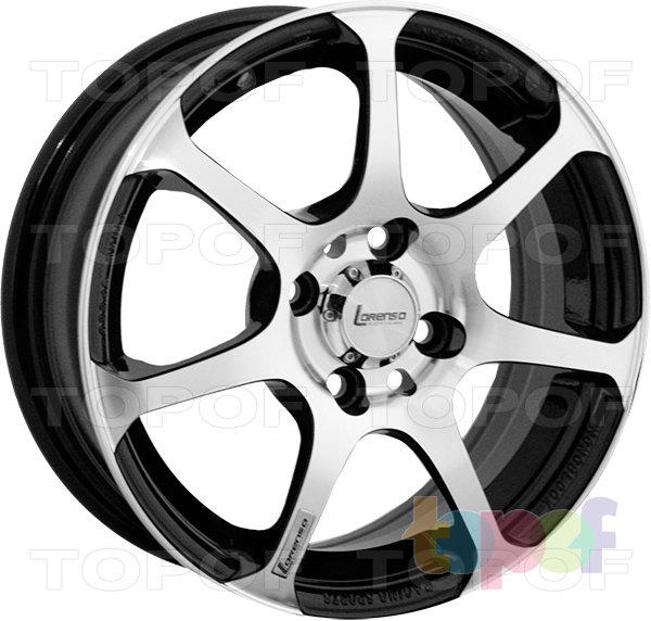 Колесные диски Lorenso 1319. Изображение модели #2