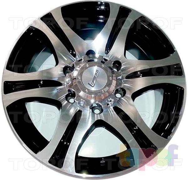 Колесные диски Lorenso 1338. Изображение модели #1