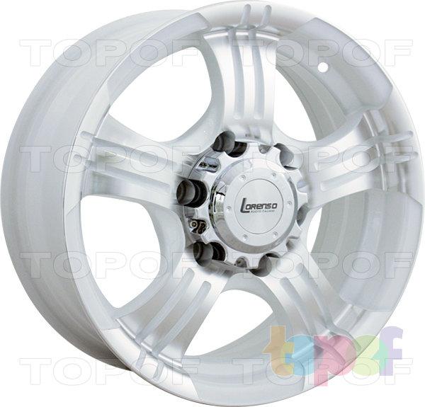 Колесные диски Lorenso 1339. Изображение модели #2