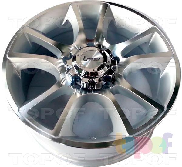 Колесные диски Lorenso 1341. Изображение модели #1