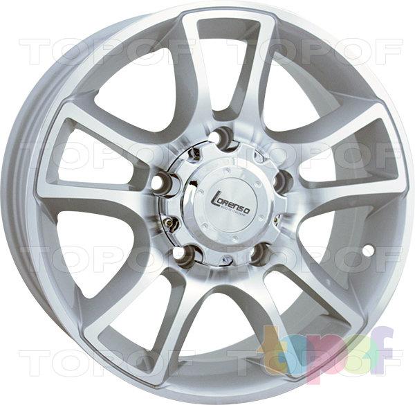 Колесные диски Lorenso 1341. Изображение модели #3