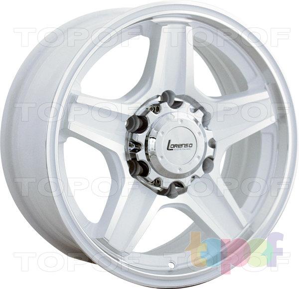 Колесные диски Lorenso 1342. Изображение модели #1