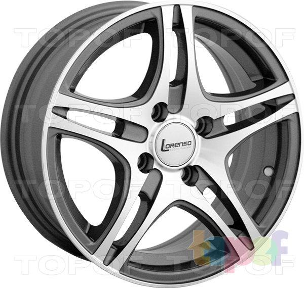 Колесные диски Lorenso 1630. Изображение модели #1