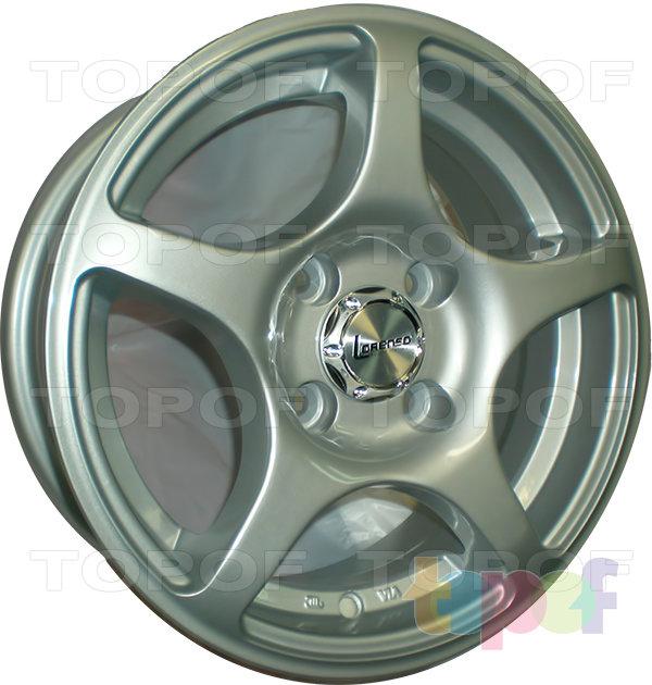 Колесные диски Lorenso 1701. Изображение модели #1