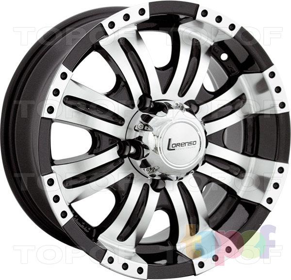Колесные диски Lorenso 1707. Изображение модели #1