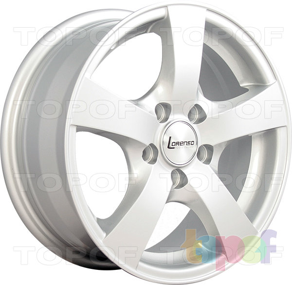 Колесные диски Lorenso 1712. Изображение модели #4