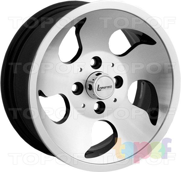 Колесные диски Lorenso 1725. Изображение модели #1