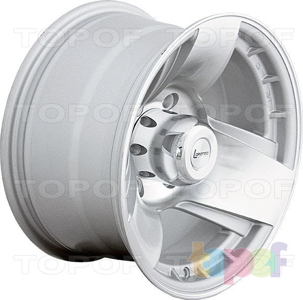 Колесные диски Lorenso 1729. Изображение модели #1