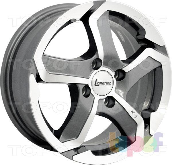 Колесные диски Lorenso 1734. Изображение модели #1